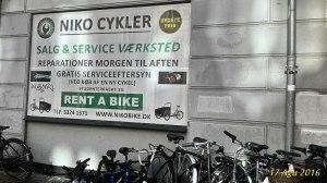 Kopenhag'ta Türkçe konuşan bisiklet tamircisinin dükkanı