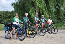Hoogeveen, Hollanda. Drenthe-Viyana turu başlıyor.